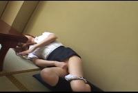 SNS-261 激撮!某テレビ局女子アナ本番前オナニー映像 2